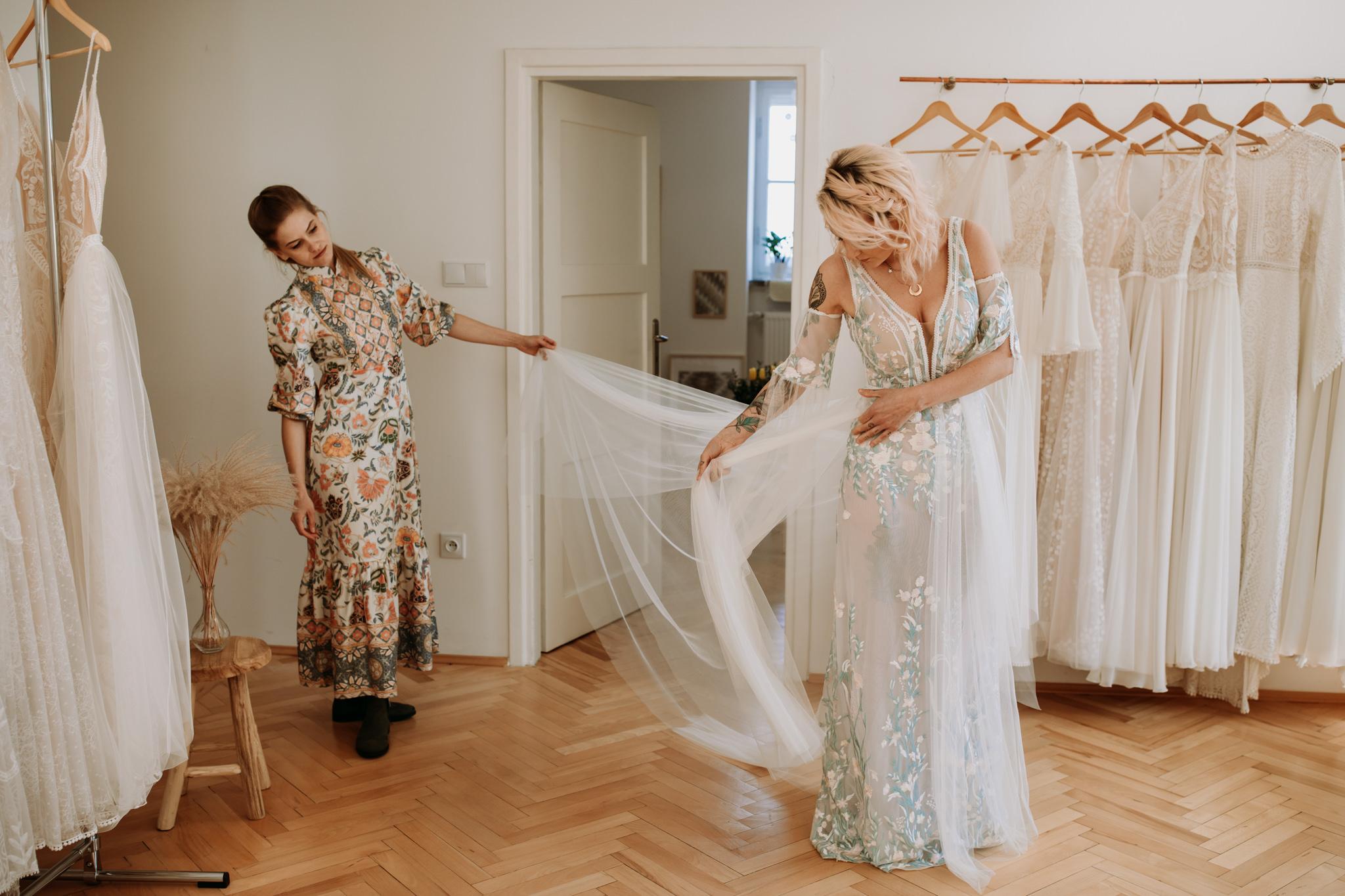 Wróżkowe suknie ślubne